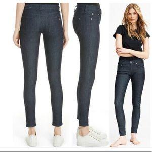 rag & bone Mid-rise Dark Wash Legging Jeans 27